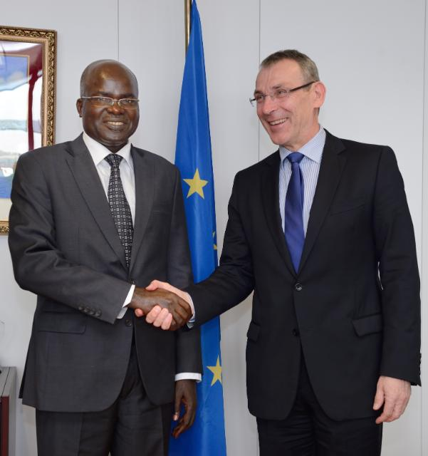 Visit of Gervais Rufyikiri, Second Vice-President of Burundi, and Laurent Kavakure, Burundian Minister for External Relations and International Cooperation, to the EC