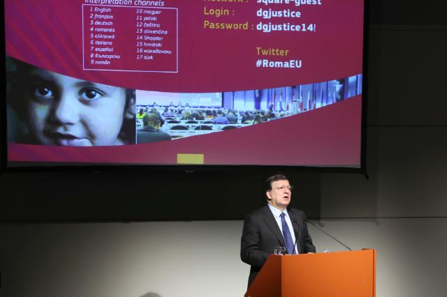 European Roma Summit, 04/04/2014