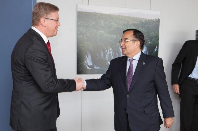 Visit of Nabil Fahmi, Egyptian Minister for Foreign Affairs, to the EC