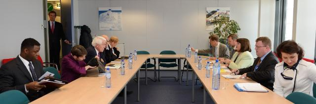 Visit of Thomas J. Donohue, President and CEO of the U.S. Chamber of Commerce, to the EC