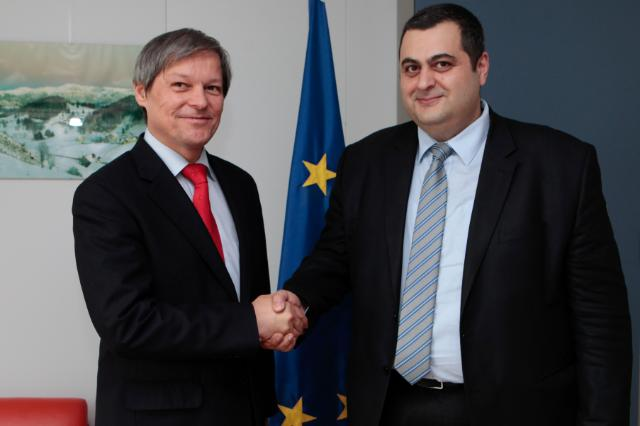 Visit of Shalva Pipia, Georgian Minister for Agriculture, to the EC