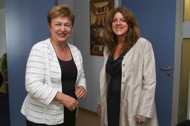 Visit of Hilde Johnson, Special Representative of the Secretary General of the United Nations in South Sudan, to the EC
