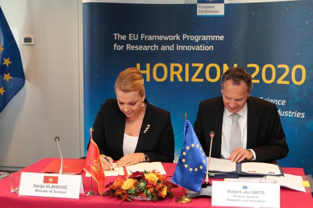 Signature ceremony of the Horizon 2020 association agreements with Albania, Bosnia and Herzegovina, the former Yugoslav Republic of Macedonia, Moldova, Montenegro and Serbia