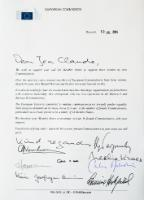 The letter signed by female Commissioners, calling for Member States to nominate more women in future Juncker Commission