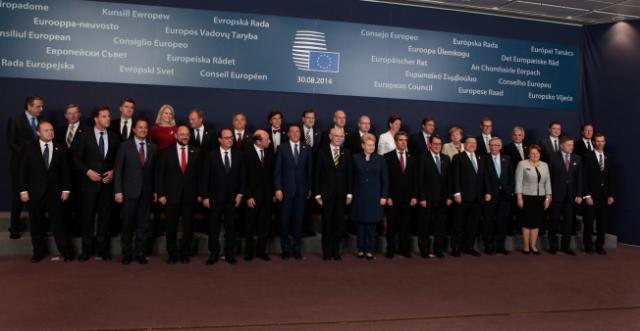 Special meeting of the European Council, 30/08/2014
