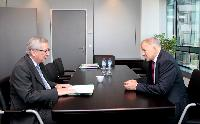 Meeting between Vytenis Andriukaitis, Member of the Lithuanian Parliament, and Jean-Claude Juncker, President-elect of the EC