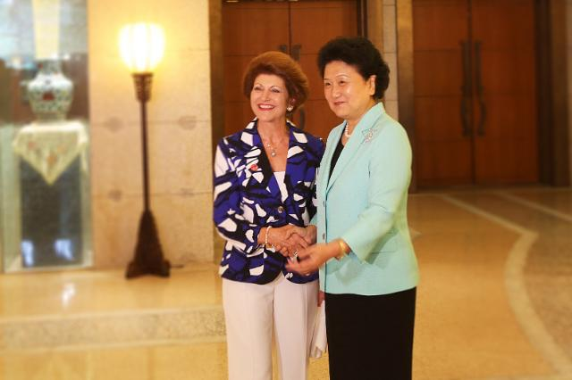 Visit by Androulla Vassiliou, Member of the EC, to China