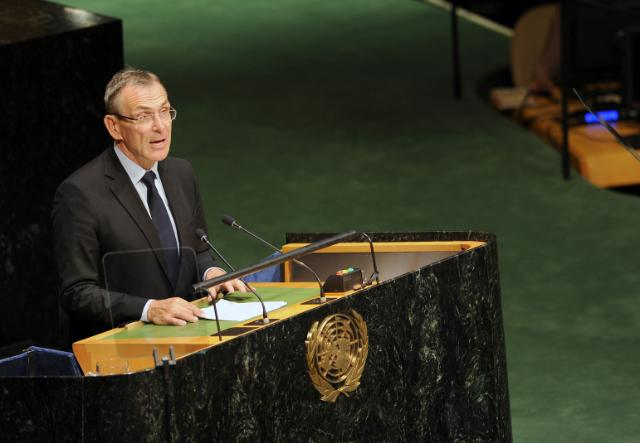 Participation of Andris Piebalgs, Member of the EC, at the 69th plenary session of the United Nations General Assembly