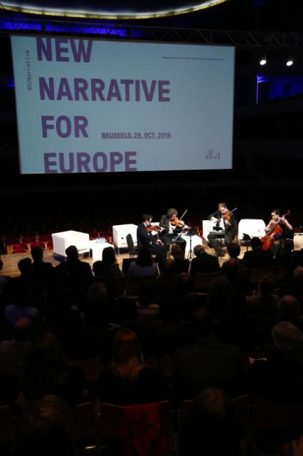 Participation of José Manuel Barroso, President of the EC, and Androulla Vassiliou, Member of the EC, in the presentation of the book 'The Mind and Body of Europe: a new narrative'