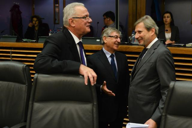 First weekly meeting of the Juncker Commission