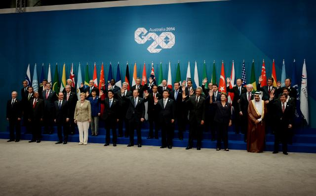 Sommet du G20 en Australie