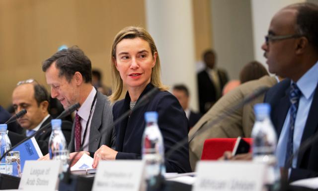 Visit of Federica Mogherini, Vice-President of the EC, to Denmark