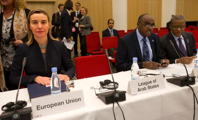 Visite de Federica Mogherini, vice-présidente de la CE, au Danemark