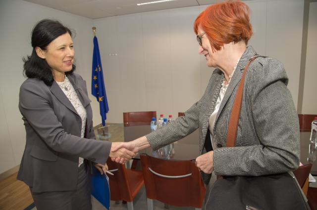 Visit of Malgorzata Fuszara, Plenipotentiary Minister of the Polish Government for Equal Treatment, to the EC