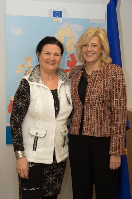 Visit of Constanze Angela Krehl, Member of the EP, to the EC
