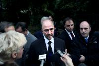 """Illustration of """"Visit of Pierre Moscovici to Athens"""""""
