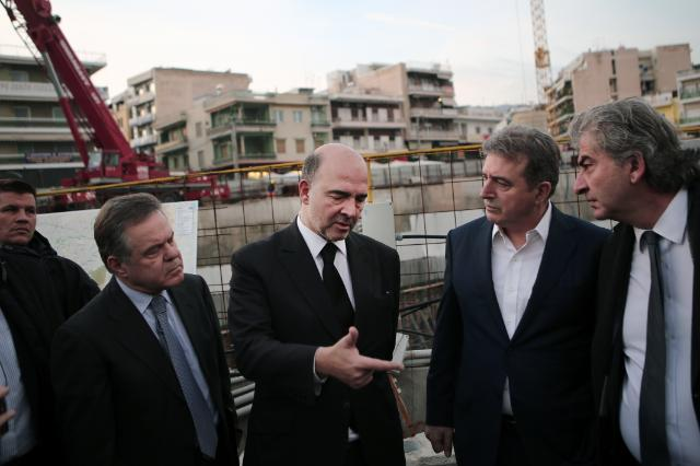 Visit of Pierre Moscovici, Member of the EC, to Greece