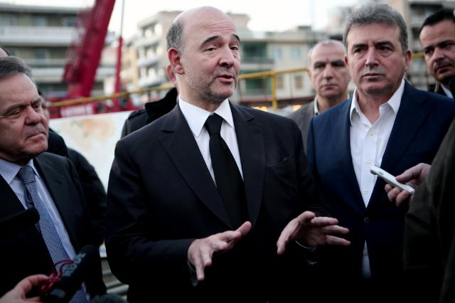 Visit of Pierre Moscovici to Athens