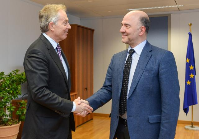 Visit of Tony Blair, Quartet Representative to the Middle East, to the EC