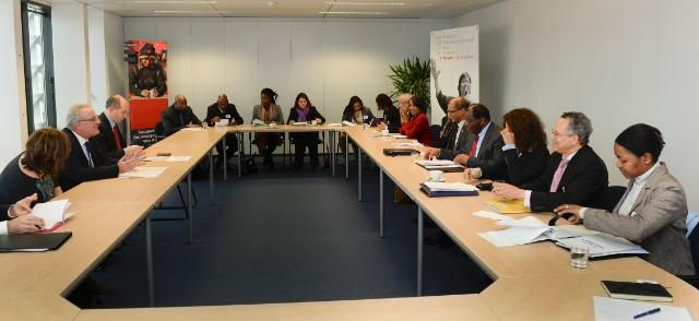Participation of Neven Mimica, Member of the EC, at the meeting with the Ambassadors of the Cariforum countries
