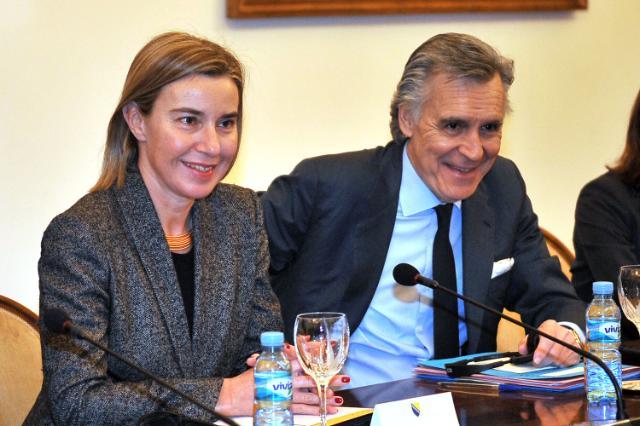 Visit of Federica Mogherini, Vice-President of the EC, to Bosnia and Herzegovina