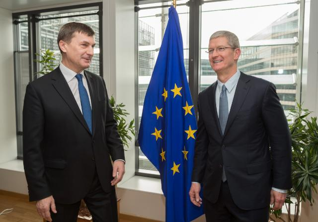 Visit of Tim Cook, CEO of Apple, to the EC