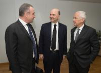 """Illustration of """"Visit of Loïc Armand, President of L'Oréal France and Senior Vice-President of External Affairs of..."""