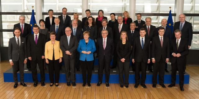 Visit of Angela Merkel, German Federal Chancellor, to the EC