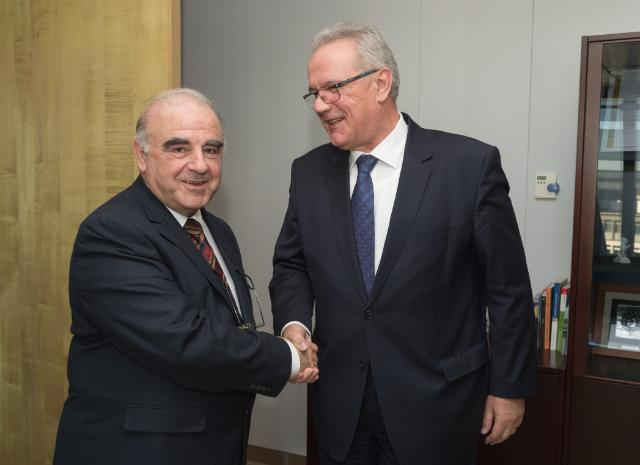 Visit of George Vella, Maltese Minister for Foreign Affairs, to the EC