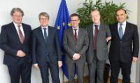 Visite d'une délégation d'EUCAR à la CE