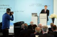 """Illustration of """"Visit of Valdis Dombrovskis, Vice-President of the EC, to Germany"""""""