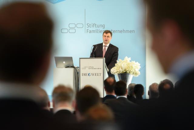 Visite de Valdis Dombrovskis, vice-président de la CE, en Allemagne