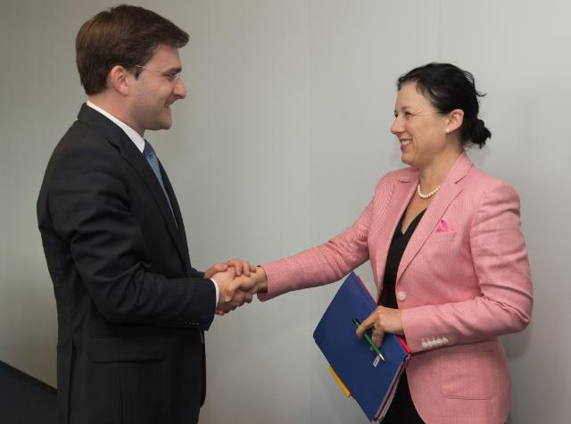 Visit of Nikola Selaković, Serbian Minister for Justice, to the EC