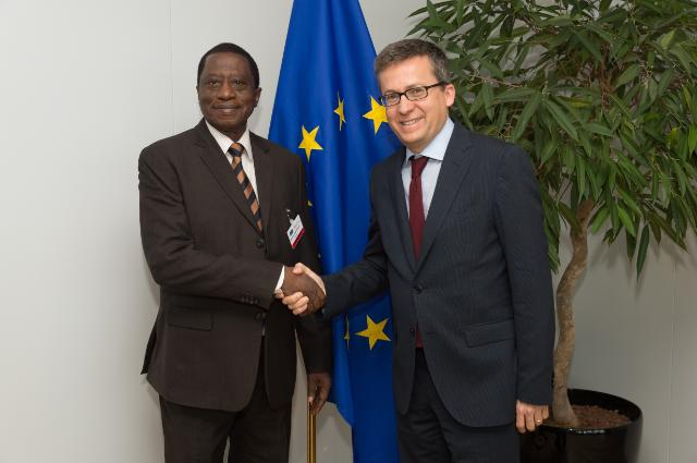 Visit of Mustapha Kaloko, Member of the AU Commission in charge of Social Affairs, to the EC