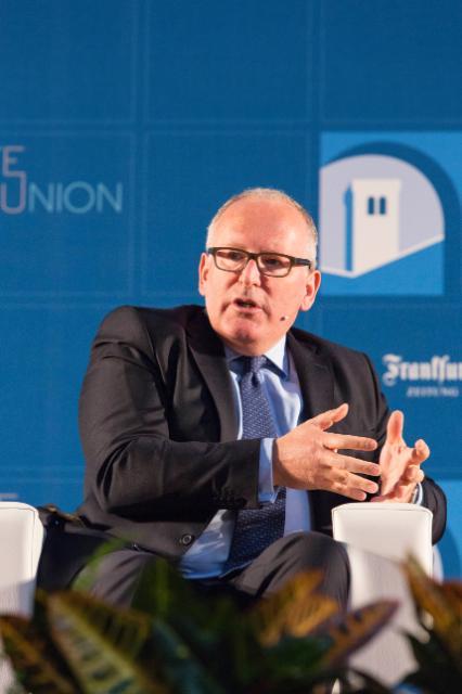 5e conférence sur l'état de l'Union, 8/05/2015