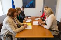 """Illustration of """"Participation of Jean-Claude Juncker, President of the EC, and several Members of the College of the EC in..."""