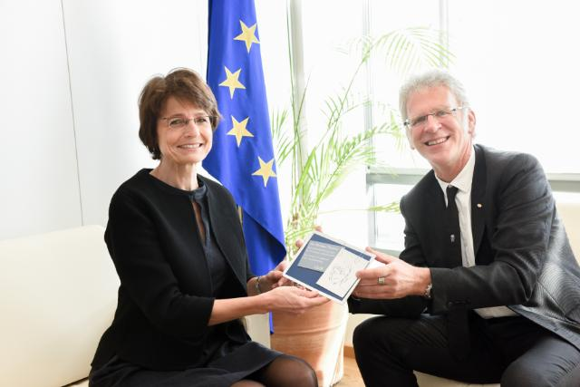 Visit of Fons Leroy, Director-General of the VDAB, to the EC