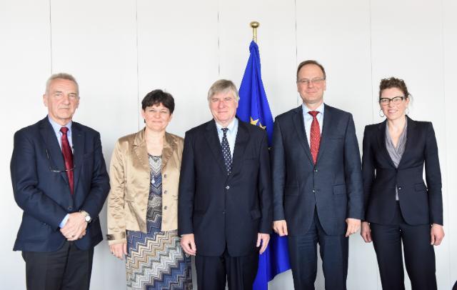 Visite d'une délégation d'Europa Nostra à la CE
