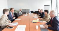 """Illustration of """"Visit of a delegation from Europa Nostra to the EC"""""""