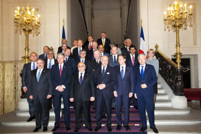 Participation of Frederica Mogherini, Vice-President of the EC, to the second Ministerial Meeting of the Small Group of the Global Coalition to counter Da'esh in Paris