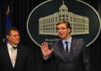 Visite de Maroš Šefčovič, vice-président de la CE, en Serbie