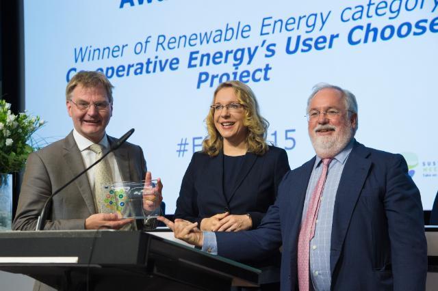 European Sustainable Energy Week 2015 and ceremony of the Sustainable Energy Europe Awards 2015