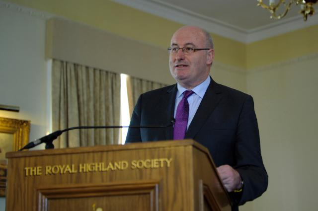 Visit of Phil Hogan, Member of the EC, to the Royal Highland Show 2015 in Edinburgh