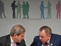"Illustration of ""Participation of Johannes Hahn and Karmenu Vella, Members of the EC, at the 5th Informal Eastern..."