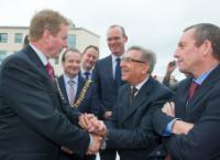 Visite de Karmenu Vella, membre de la CE, en Irlande