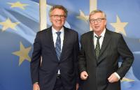 Visit of Pierre Gramegna, Luxembourgish Minister for Finance, to the EC