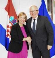 Visit of Vesna Pusić, Croatian First Deputy Prime Minister and Minister for Foreign and European Affairs, to the EC