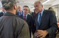 Visit of Dimitris Avramopoulos, Member of the EC, to Germany