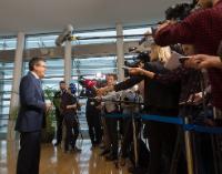 Doorsteps ahead of the weekly meeting of the Juncker Commission