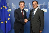 Visit of Elyès Jouini, Vice-President of the Paris-Dauphine University, to the EC